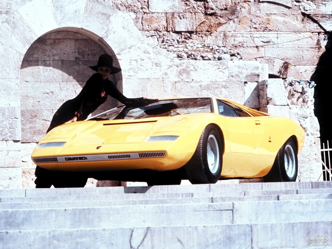 Прототип Lamborghini Countach, 1971 год