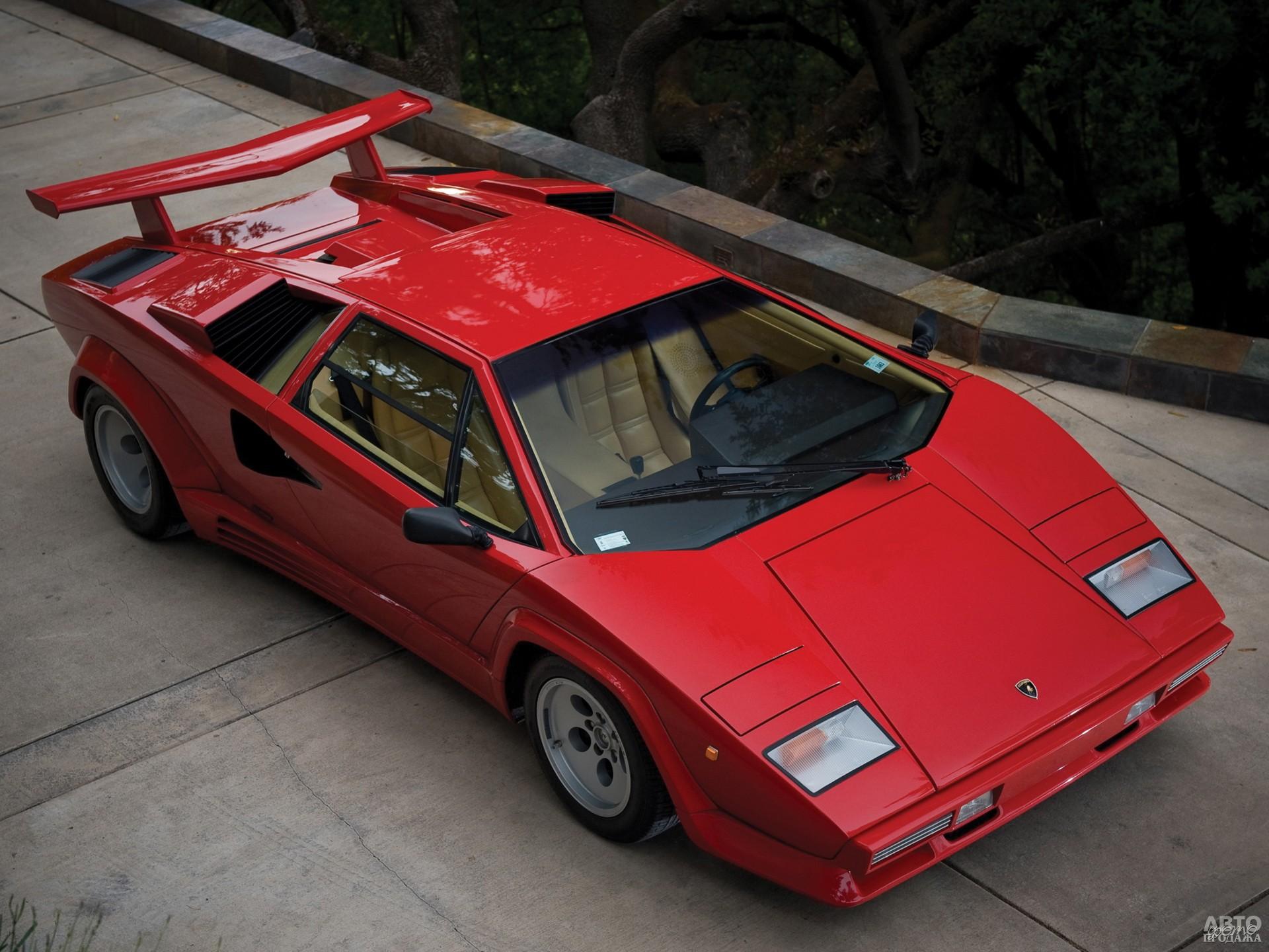 LP5000 QV 1985 года стал быстрее благодаря 455-сильному двигателю