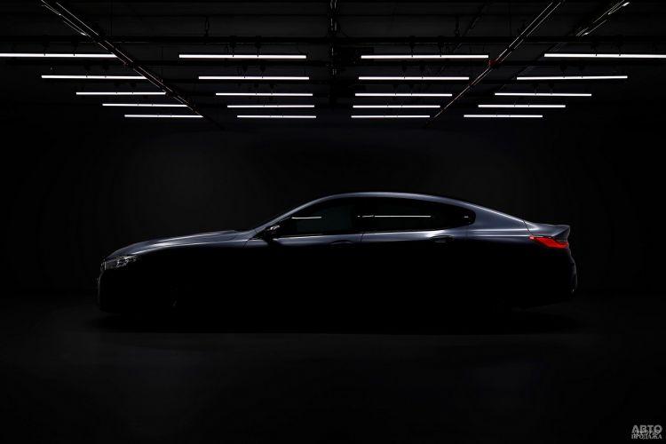 Первые изображения BMW 8 Series Gran Coupe