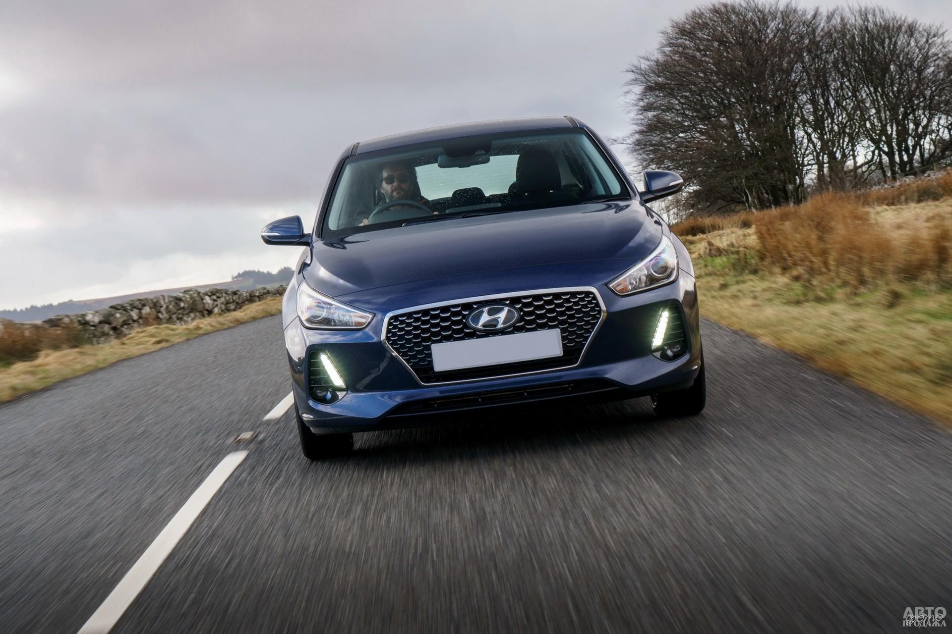 Фары Hyundai i30 дополнены светодиодными ходовыми огнями