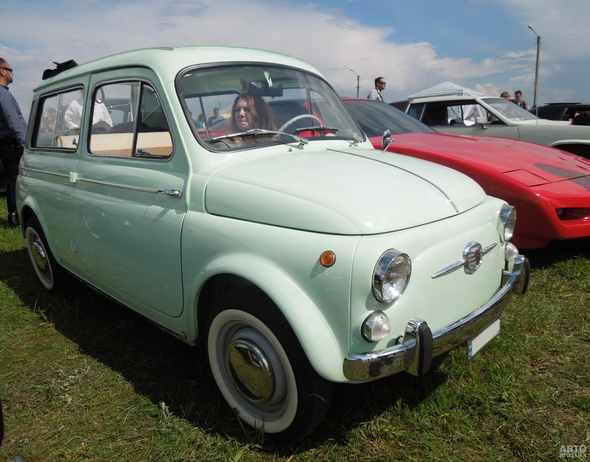 Fiat 500 Giardiniera - победитель фестиваля