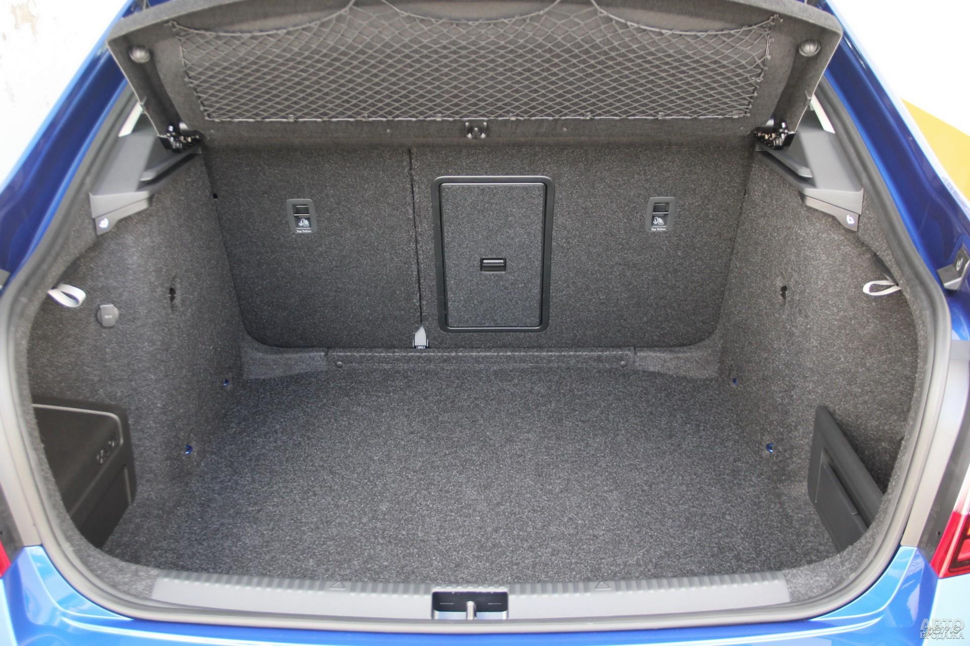 Багажник Skoda наиболее вместительный – 590 л