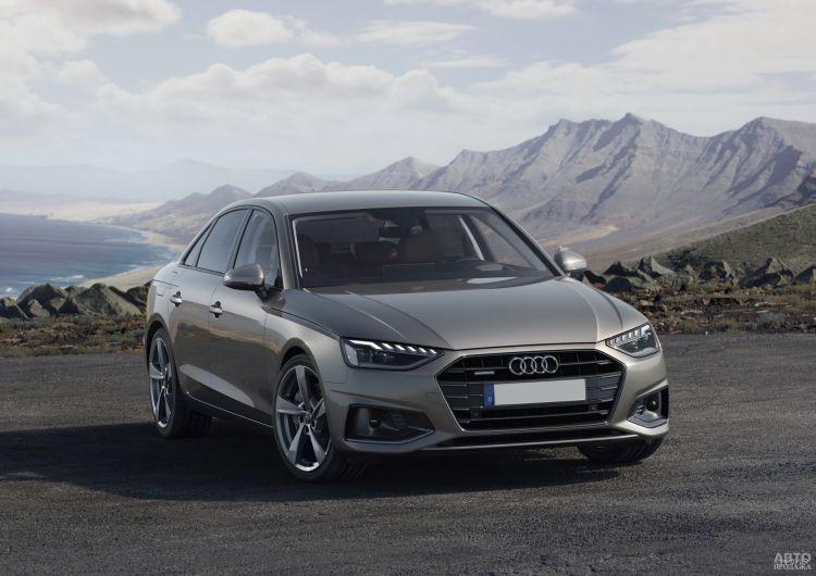 Audi A4: модернизация