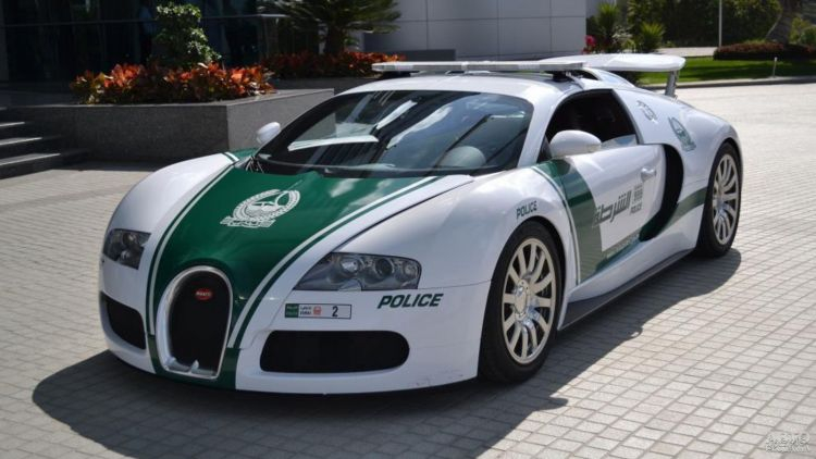 Определен самый быстрый полицейский автомобиль в мире