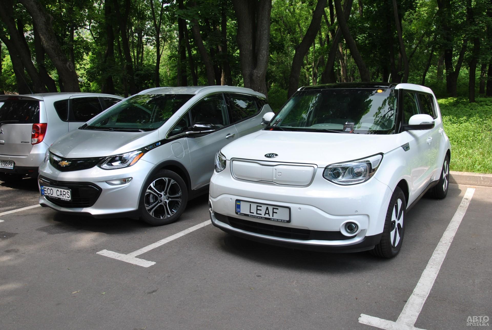 Chevrolet Bolt и Kia Soul EV