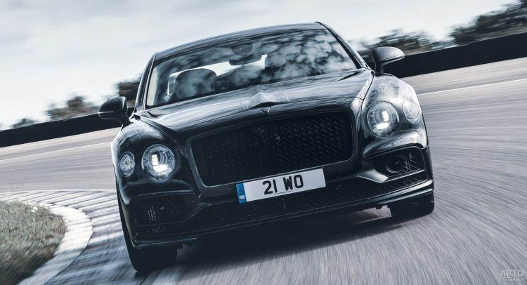 Первые фото Bentley Flying Spur нового поколения
