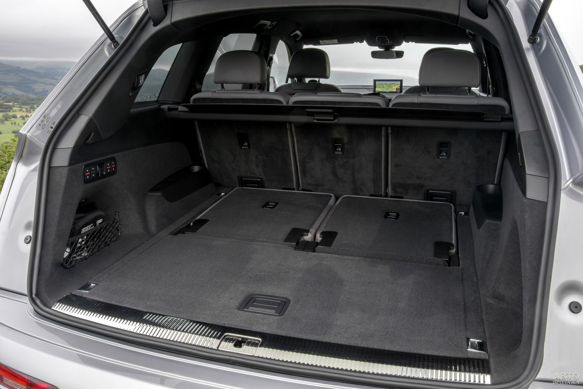 Объем багажника Audi – от 295 до 2075 л