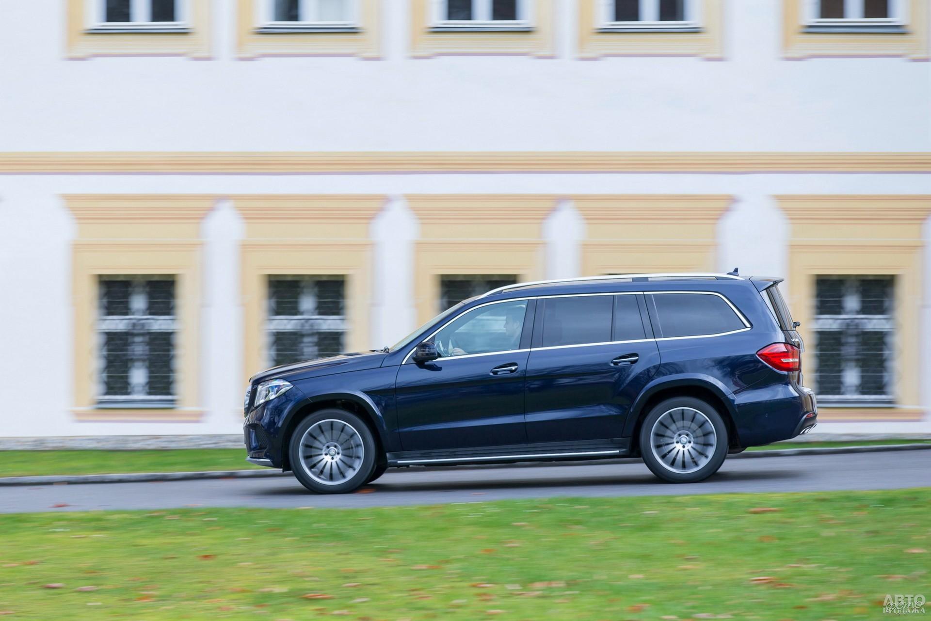 Mercedes-Benz наиболее тяжелый – 2445 кг