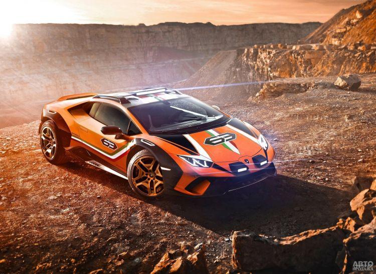 Lamborghini Huracan превратили во вседорожник