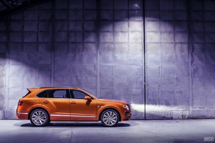 Bentley Bentayga Speed: роскошь и скорость