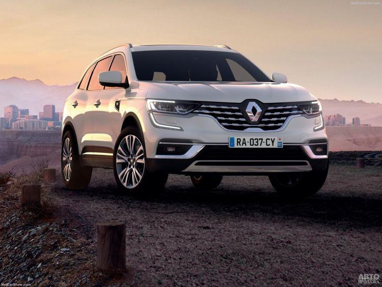 Renault Koleos немного обновили