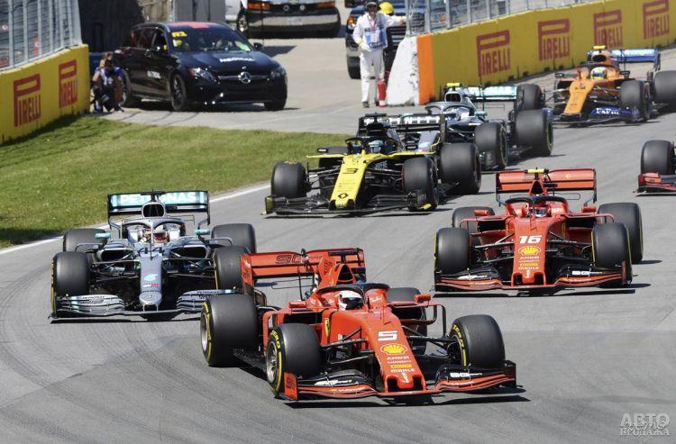 Формула-1: Феттеля лишили победы в Канаде