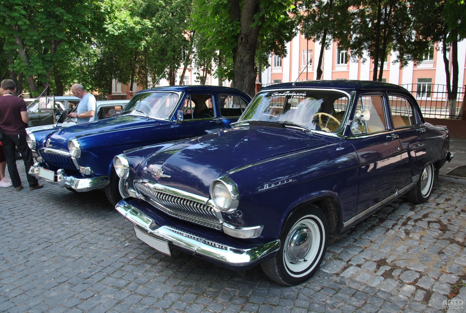ГАЗ-23 - Волга с двигателем от Чайки