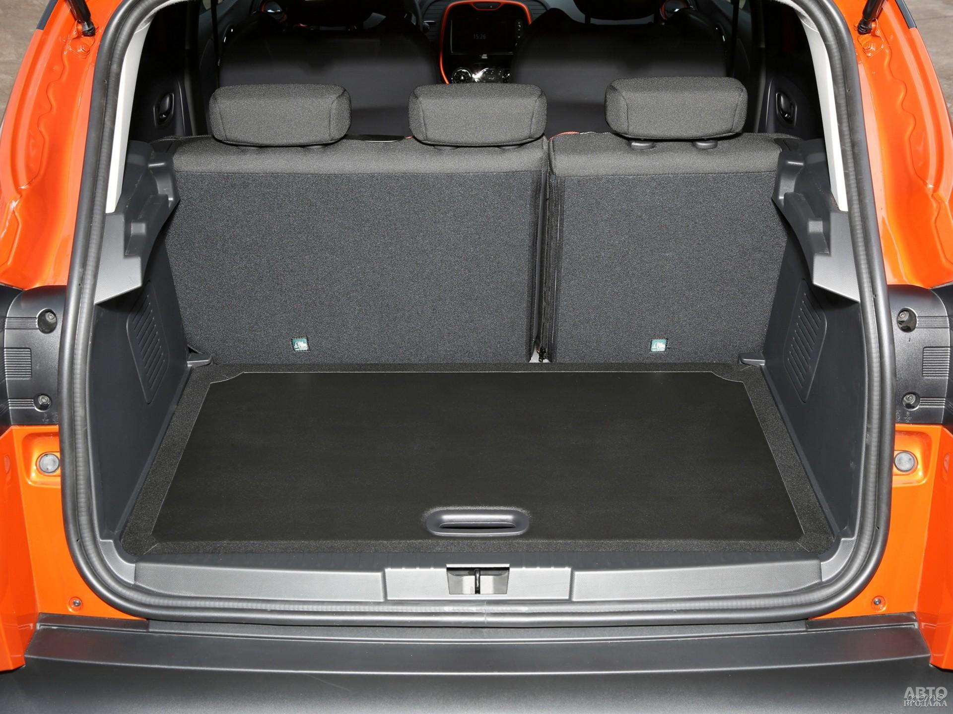 Багажник Renault самый большой – до 455 л