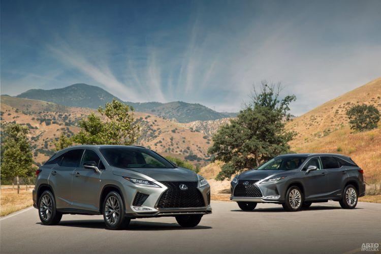 Lexus RX: модернизация