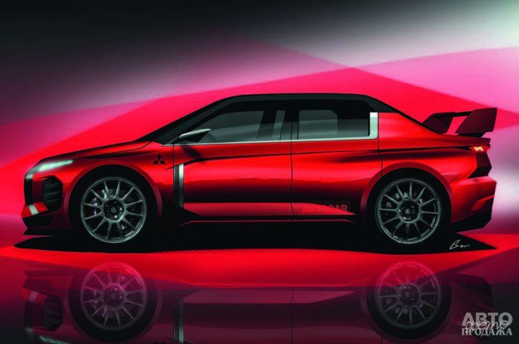 Mitsubishi может возродить Lancer Evolution