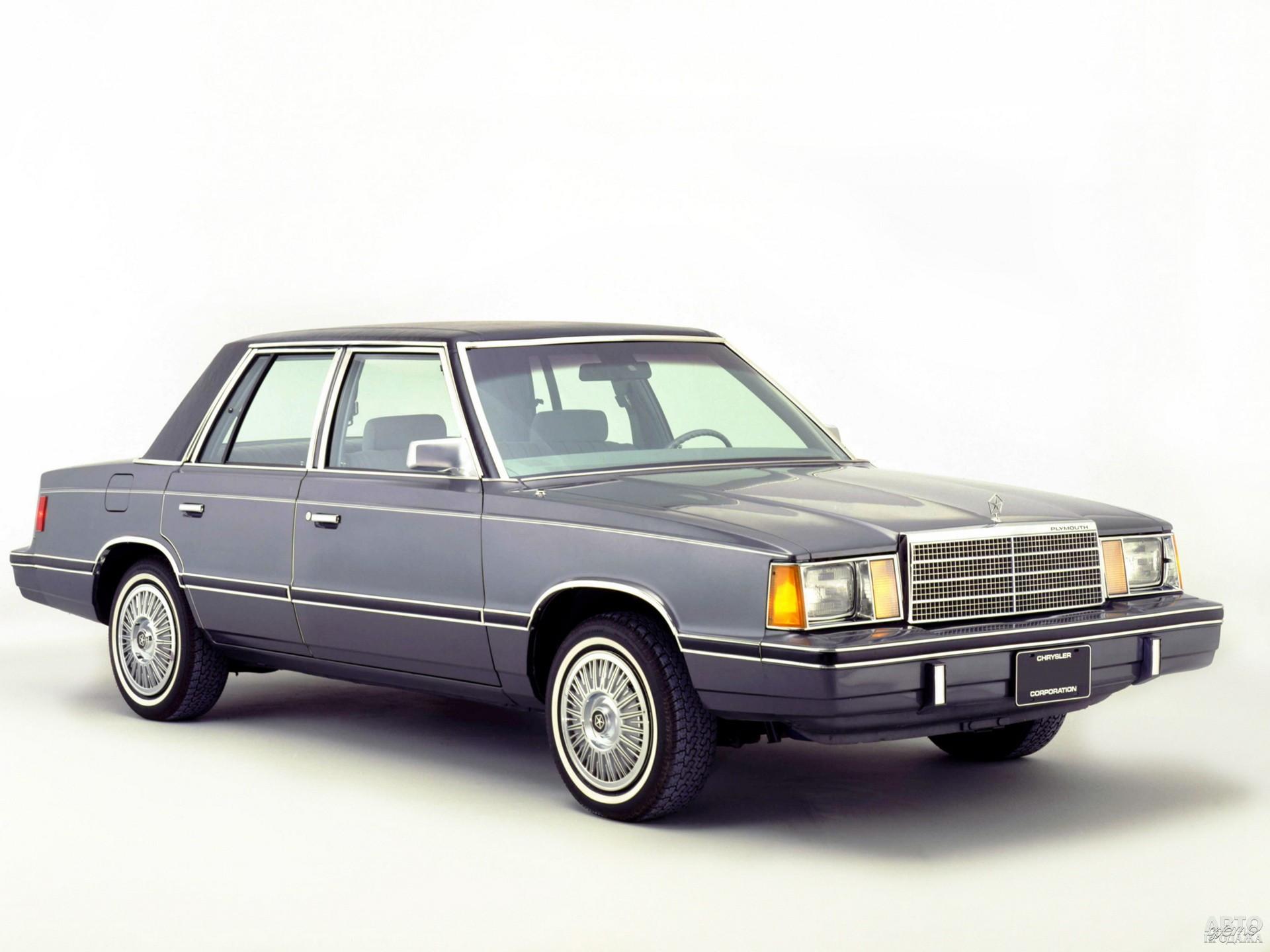 Plymouth Reliant 1981 года – представитель К-серии