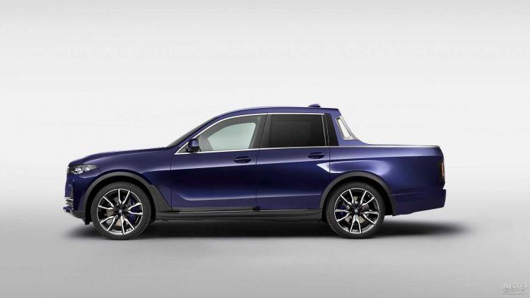 BMW X7 превратили в пикап