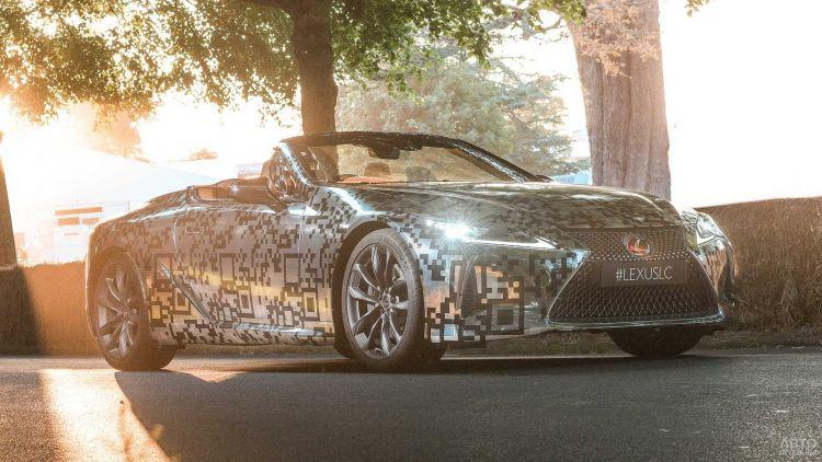 Lexus LC станет кабриолетом