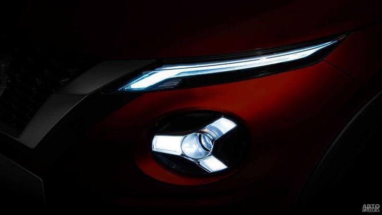 Первое фото нового Nissan Juke