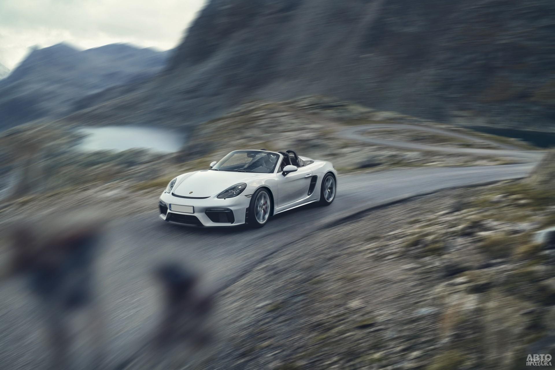 Porsche 718  Boxster_Spyder