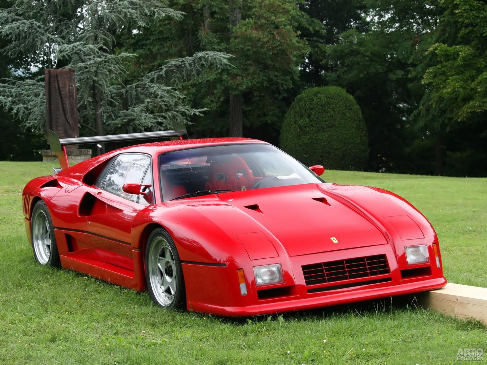 Ferrari 288 GTO Evoluzione 1986 года