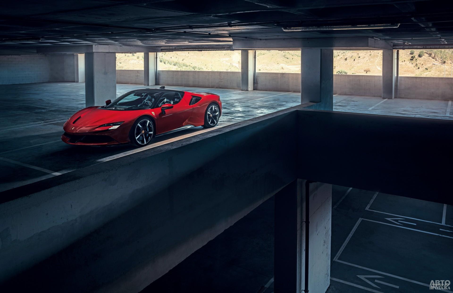 Новейший Ferrari SF90 Stradale 2019 года