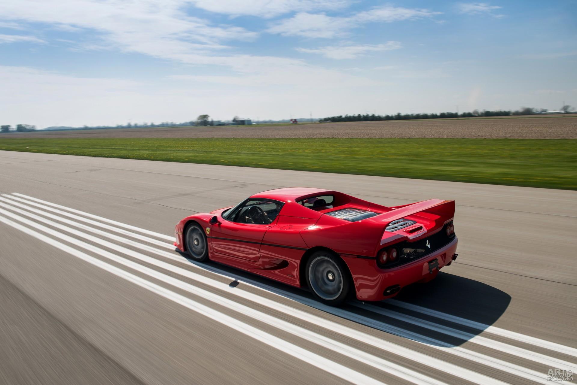 Крыша Ferrari F50 – съемная