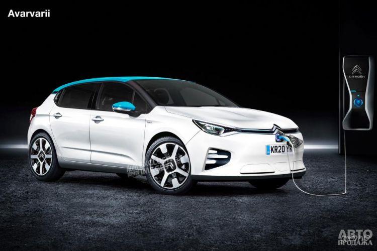 Новый Citroen C4 станет электромобилем