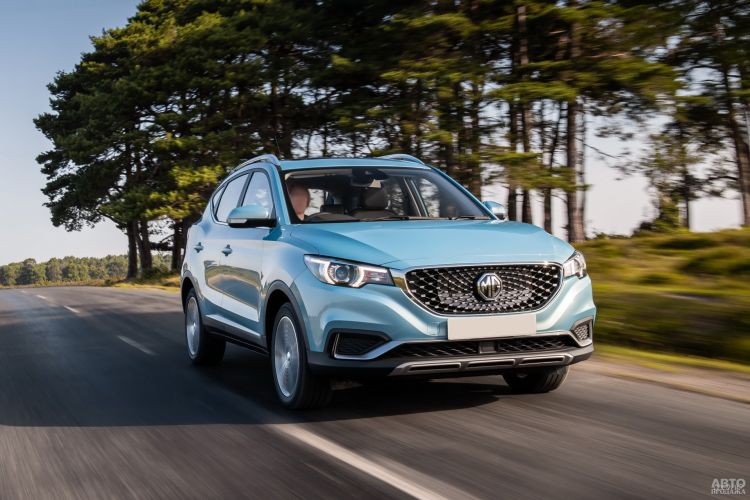 MG ZS EV: электромобиль по приемлемой цене