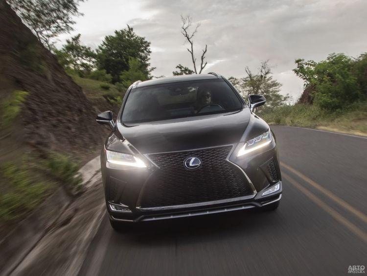 Lexus RX: освежение
