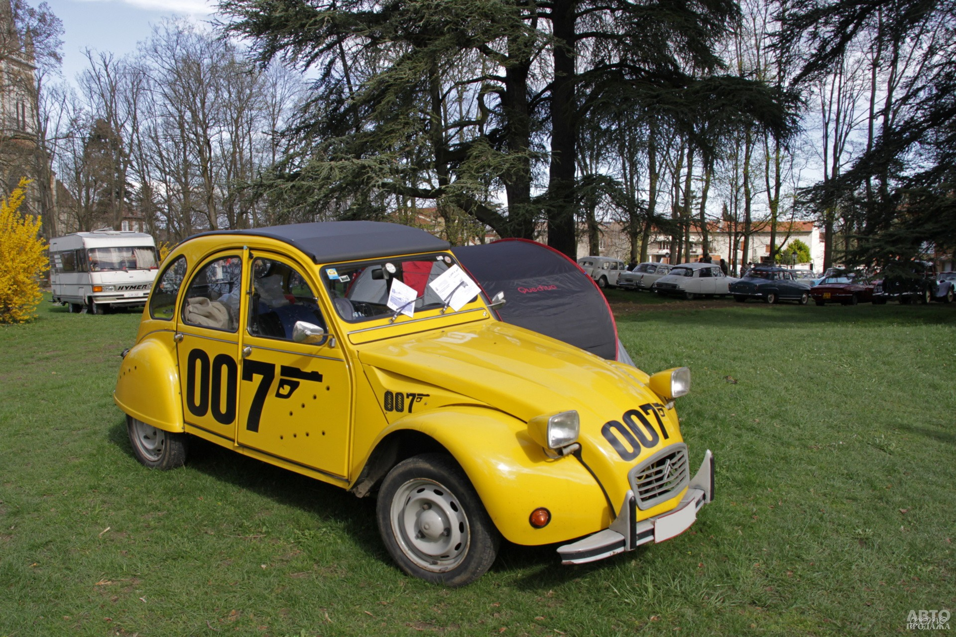 Citroen 2CV James Bond 1981 года