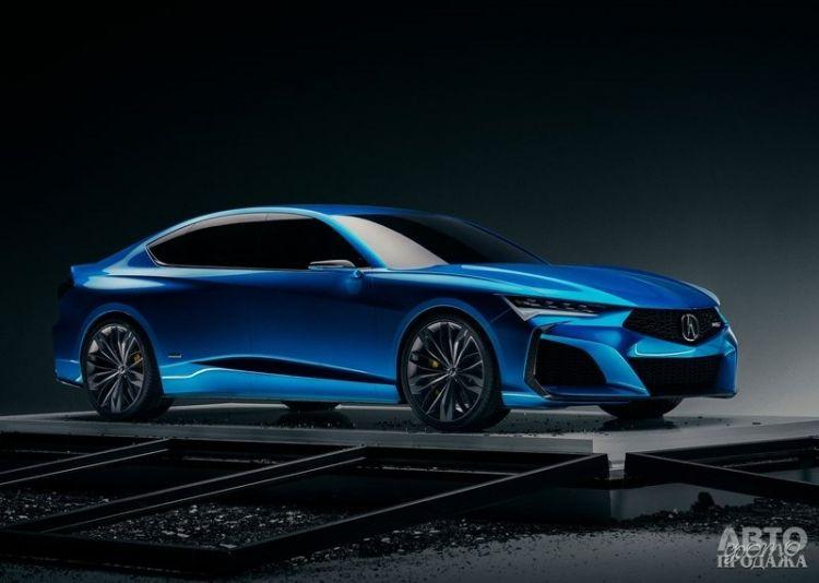Acura готовит спортивный седан