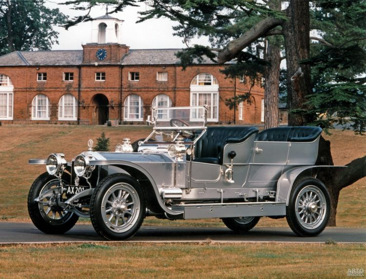 Rolls-Royce Silver Ghost: самый тихий, самый надежный, самый дорогой