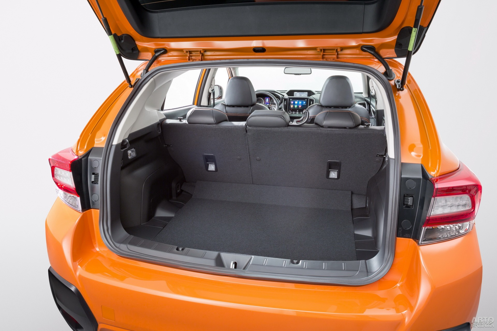 У Subaru в распоряжении – 315 л