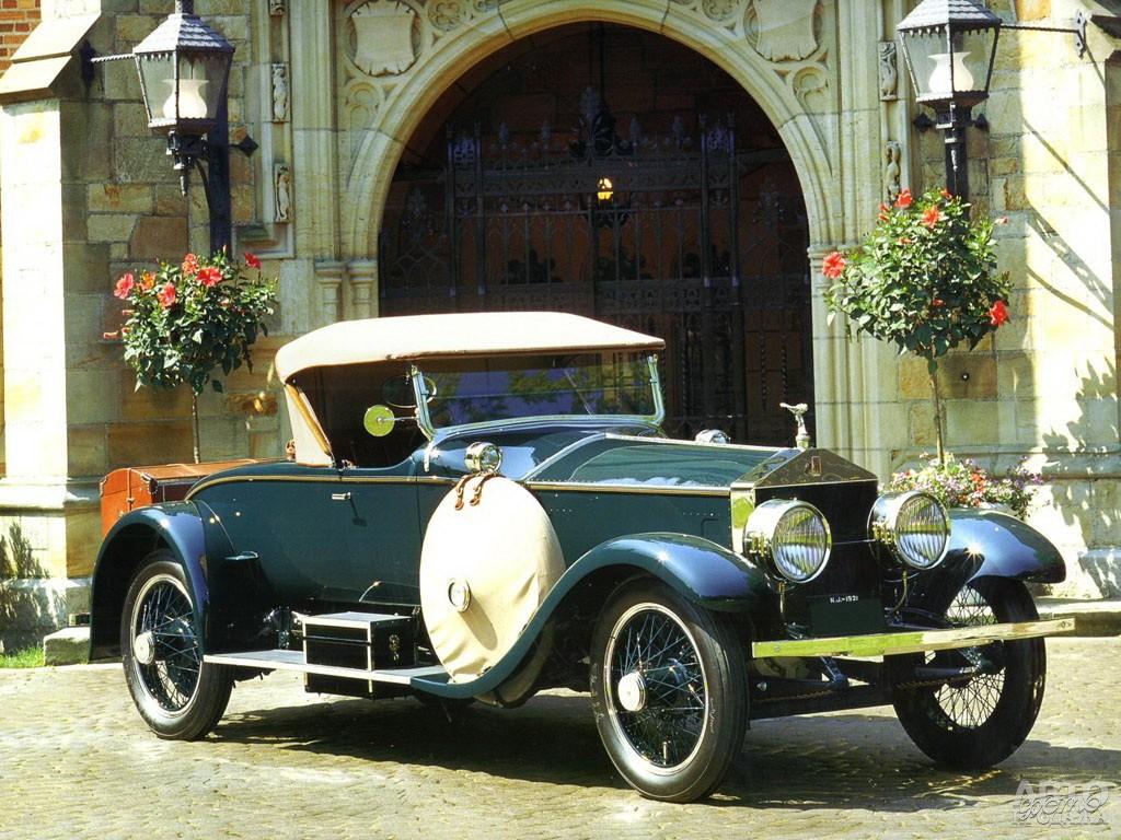 Американский Rolls-Royce Silver Ghost, 1921 год