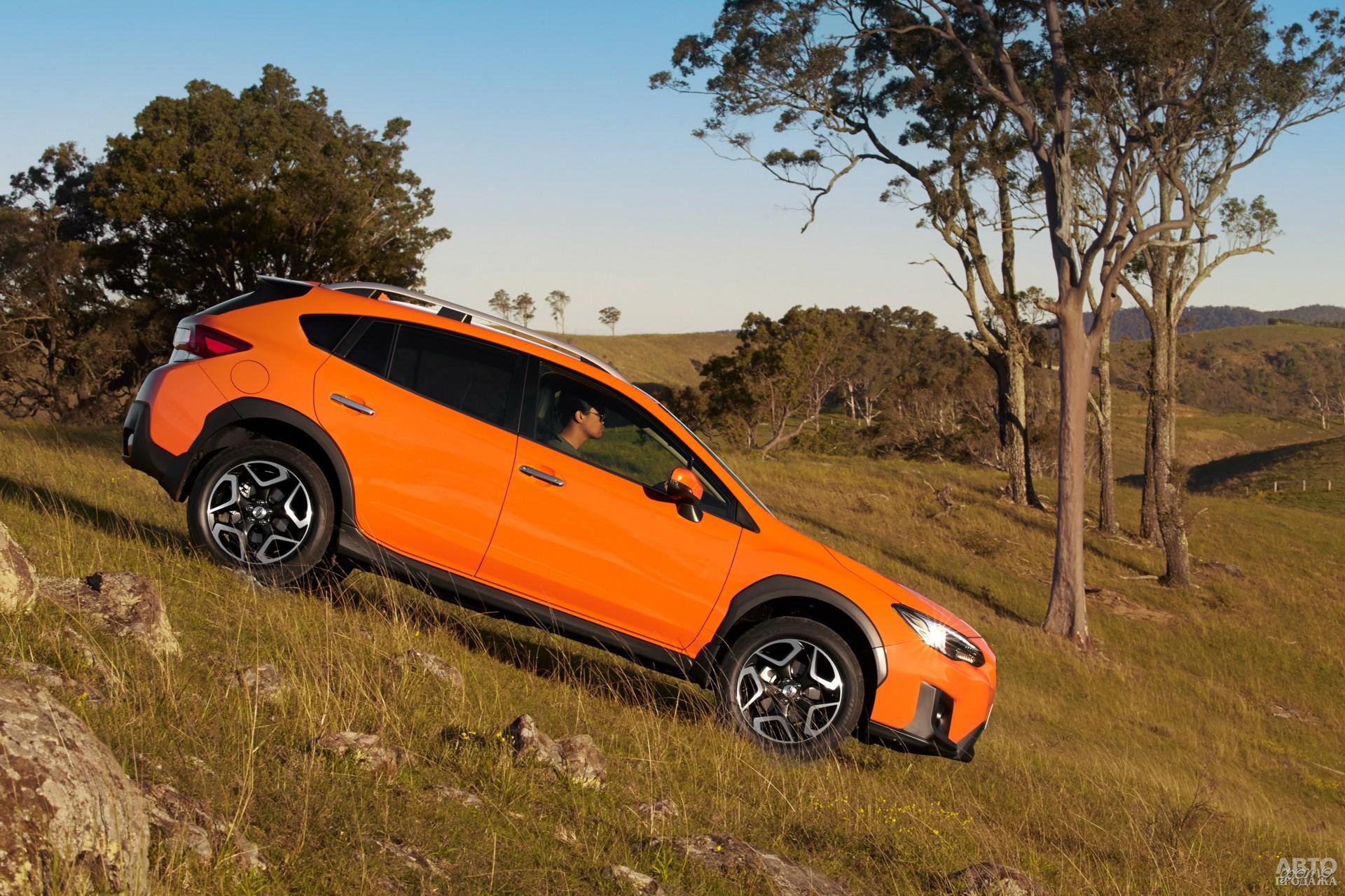 Subaru самый крупный в тройке – 4465 мм