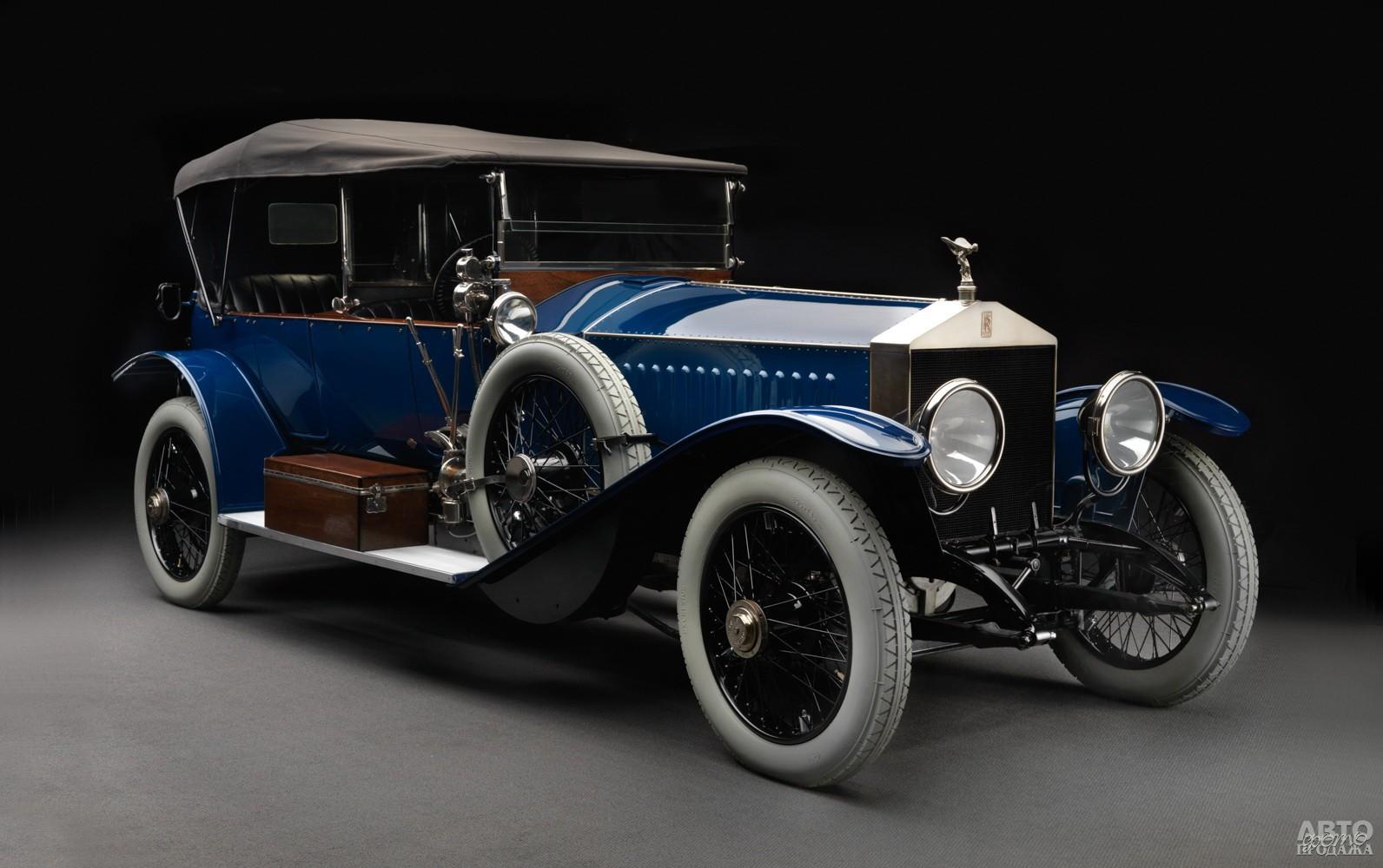 Этот Rolls-Royce Silver Ghost Alpine Eagle 1914 года в свое время ездил по Одессе