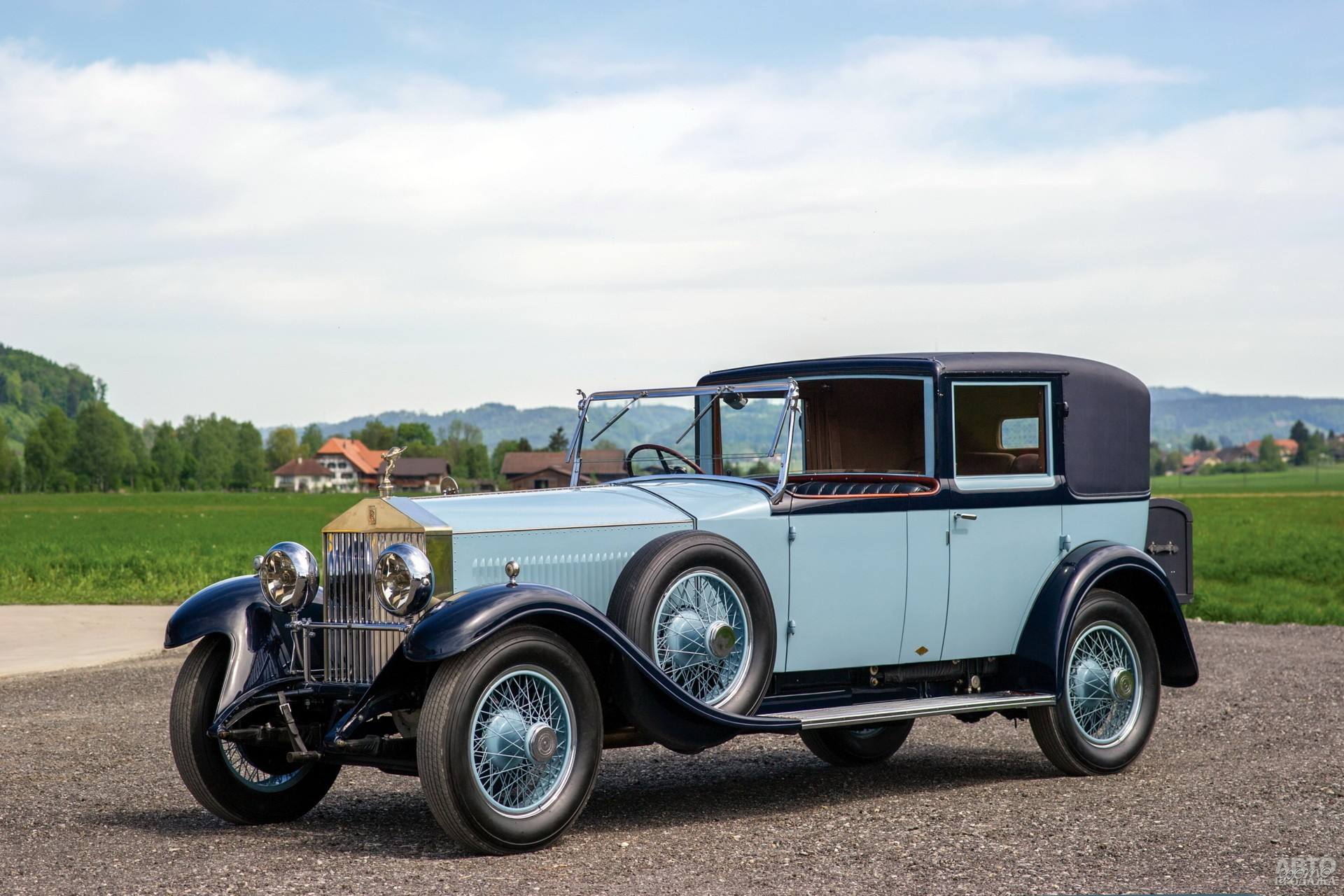 Усовершенствованный Rolls-Royce Silver Ghost 1920 года