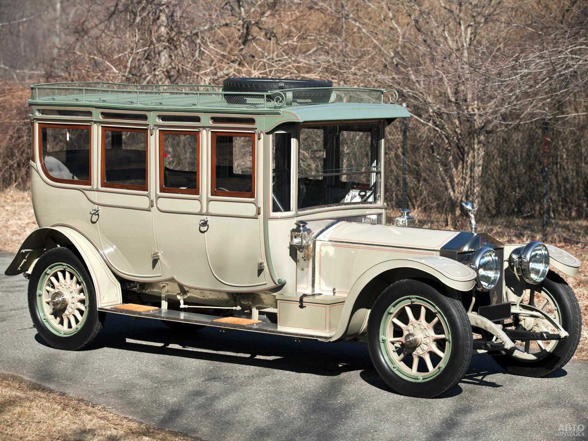 Лимузин Rolls-Royce Silver Ghost 1912 года