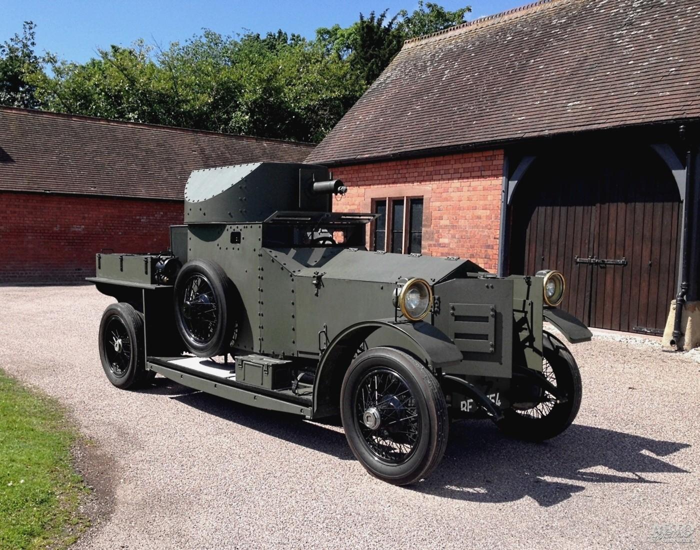 Броневик Rolls-Royce 1914 года