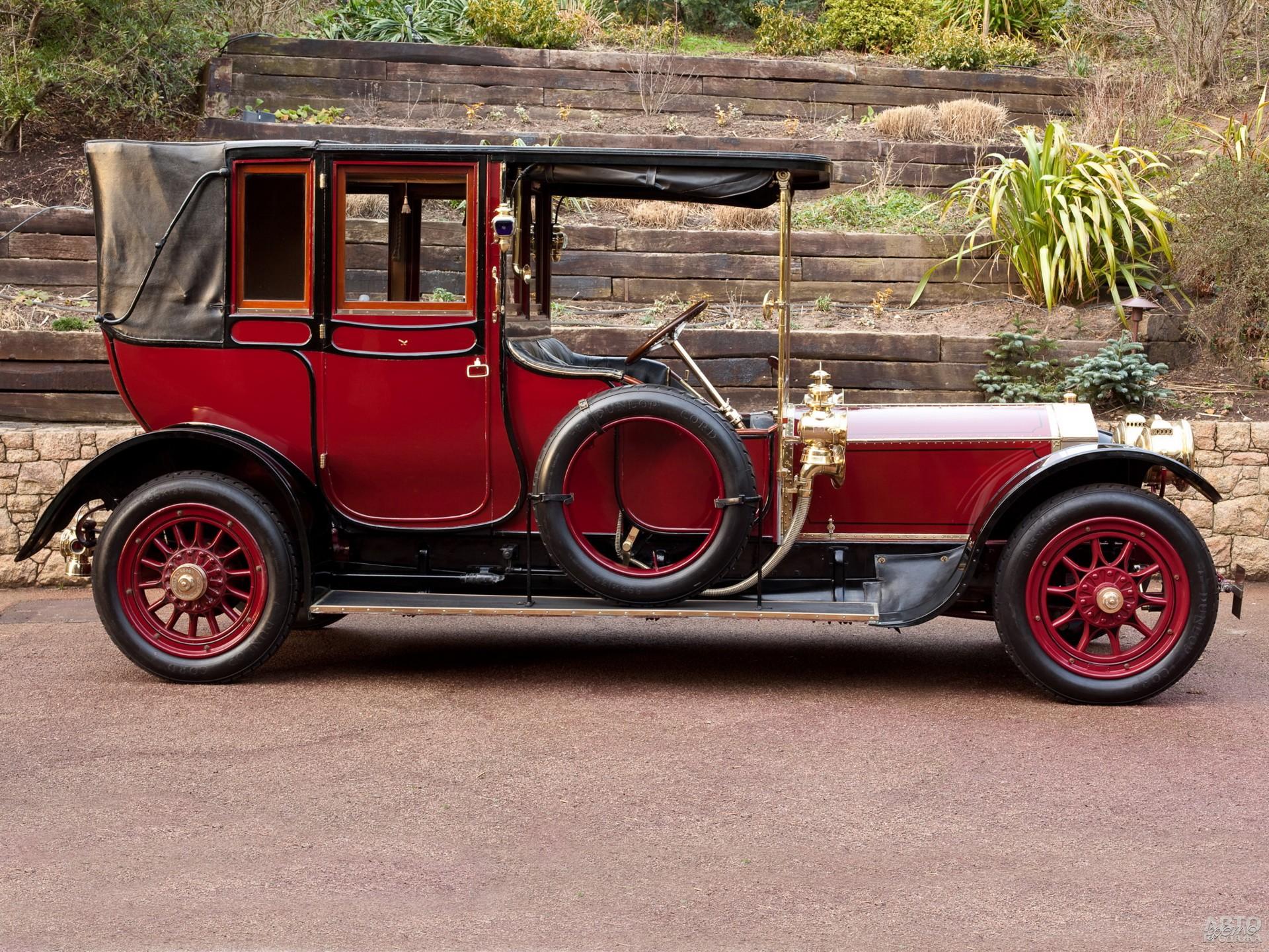 Ландоле Rolls-Royce Silver Ghost 1910 года
