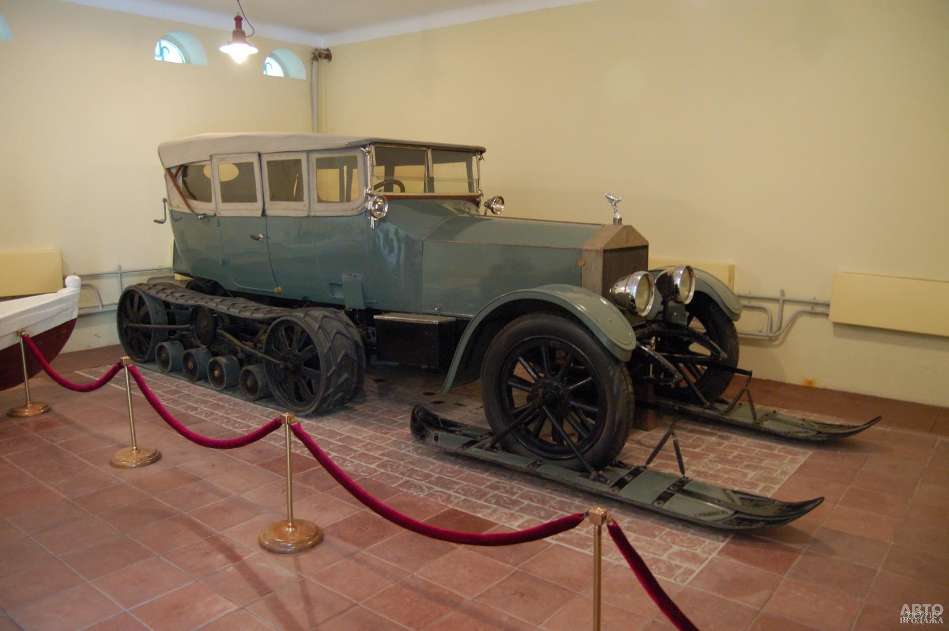 Гусеничный Rolls-Royce Ленина