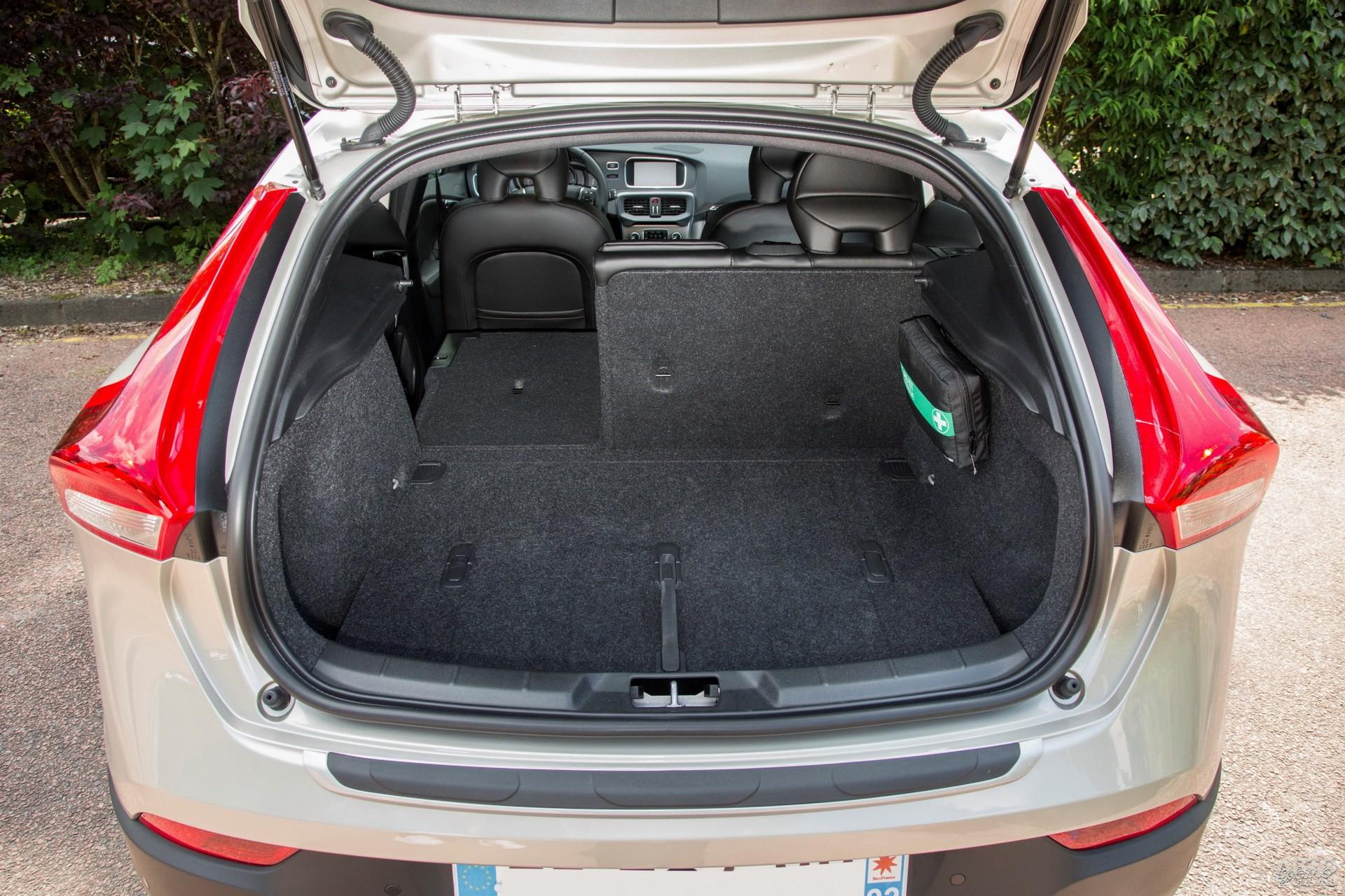 Объем багажника Volvo – 324 л