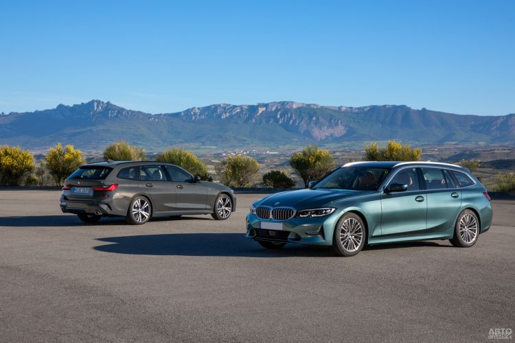 BMW 3 Series Touring: стильно и практично