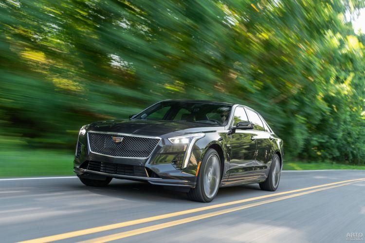 Cadillac CT6-V: редкий и быстрый зверь