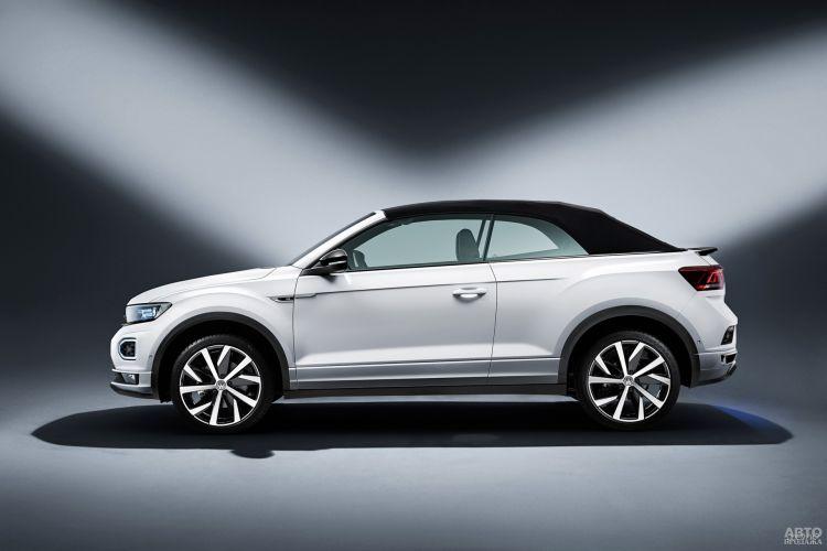 Volkswagen T-Roc Cabriolet: вседорожный кабриолет