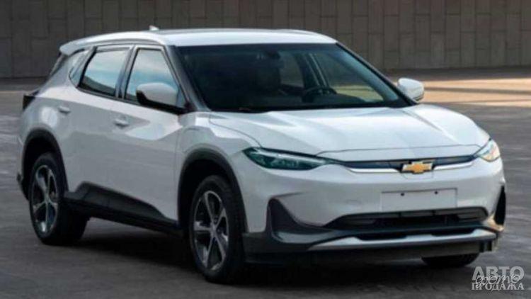 Первые фото электрического вседорожника Chevrolet
