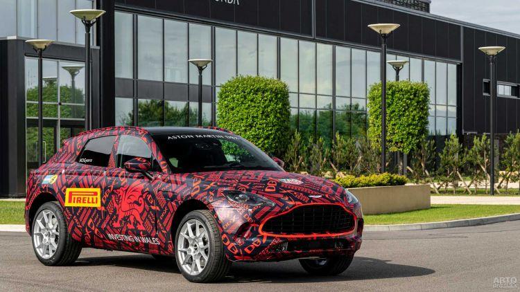 Первый вседорожник Aston Martin покажут в декабре