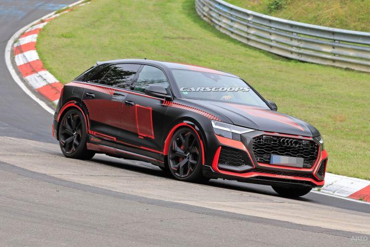 Заряженный Audi RS Q8 сфотографировали на тестах